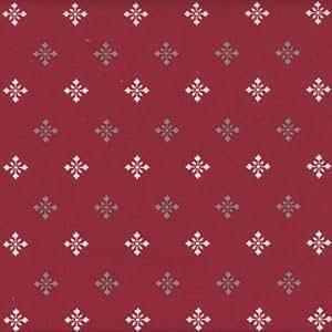 Amazon.com: Authentic Francés Fabric (Copos de nieve ...