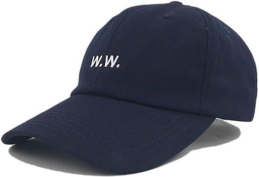 sdssup WW clásico Bordado Gorra de béisbol Pareja Viajes Visera ...