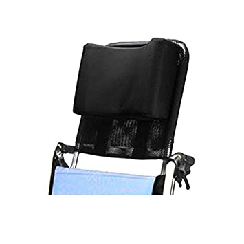 Wheelchair Headrest Neck Support Comfortable Seat Back Cushion Pillow Adjustable Padding for Adults Portable Universal Wheelchair
