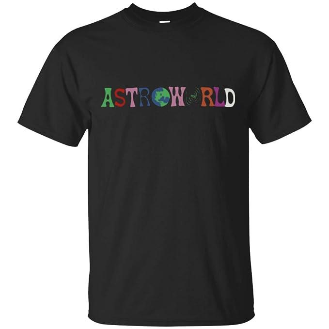 82ce6841b877 Amazon.com: Travis Scott Astroworld T-Shirt for Men: Clothing