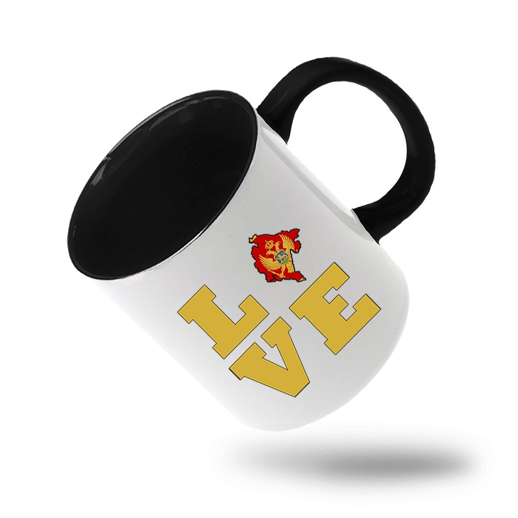 Amazon Style In Print Love Montenegro Country Flag Map Coffee