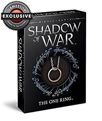 Middle-earth: Shadow of War - The One Ring Replica on 24 Chain GameStop Exclusive by The Noble Collection