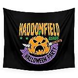 Society6 Haddonfield Halloween Party Wall Tapestry Medium: 68'' x 80''