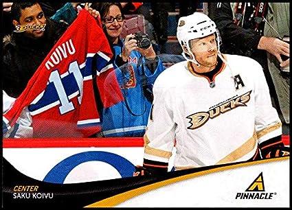 c93dd3712 2011-12 Panini Pinnacle  11 Saku Koivu NM-MT Anaheim Ducks Official NHL