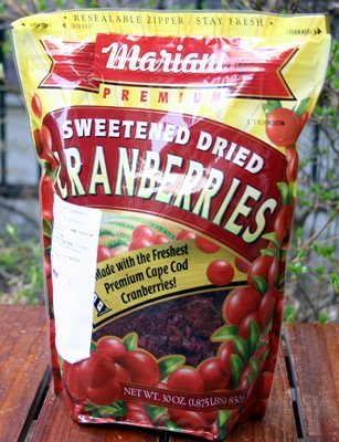 Mariani, Premium Sweetened Dried Cranberries, 30oz Bag (Pack of 2) (Dried Cranberries Sweetened)