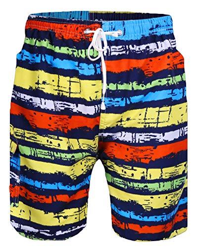 (Sykooria Mens 3D Rainbow Stripes Print Funny Lounge Wear Pants Pyjama Bottoms Jogger Lounge Pants)