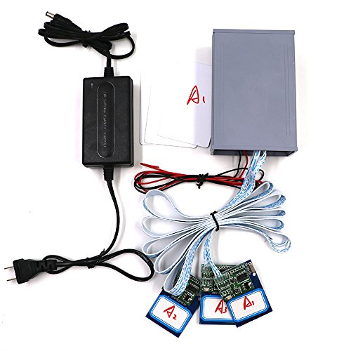 Escape Room Props 3 IC Cards 1 to 1 to Unlock with 2 Sets IC Cards Chamber of Secrets Game Prop to Control The 12V EM Lock