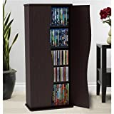 Pemberly Row 35'' Media Storage Cabinet in Espresso