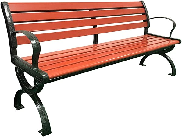XLOO Patio Park Garden Bench, Silla de jardín a Prueba de ...