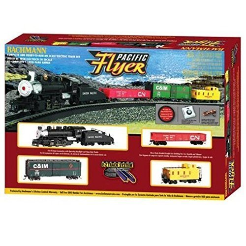 Bachmann HO Pacific Flyer Electric Train Set by Bachman