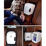 Beauty Shopping Cooluli Classic Black 4 Liter Compact Cooler Warmer Mini Fridge with AC/DC/USB Power