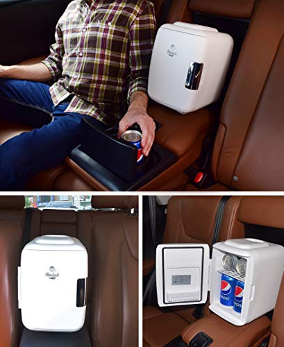 Cooluli Mini Fridge Electric Cooler