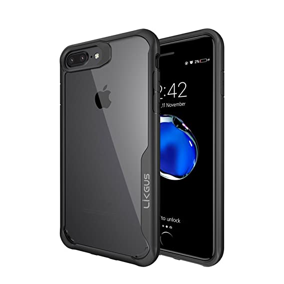 clear hard iphone 8 plus case