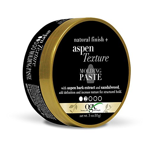 OGX Natural Finish + Aspen Extract Texture Molding Paste, 3