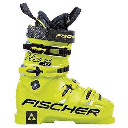 Fischer RC4 Podium 70 Junior Race Ski Boots 2018-25.5 by Fischer