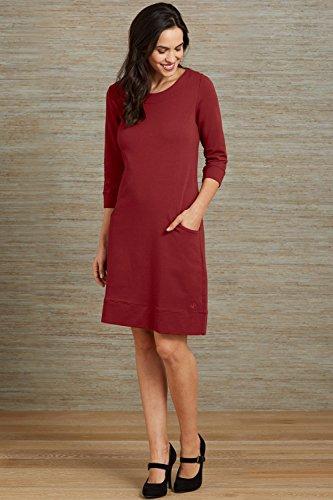 Fair Indigo Fair Trade Organic Princess Seam Pocket Dress