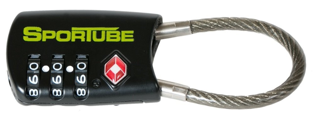 Sportube TSA Combination Cable Lock