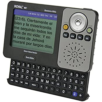 Royal Rv1 Spanish Bible Electronic Reference Device 0