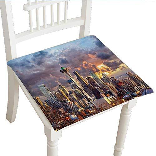 Cheery-Home Squared Seat Cushion (30