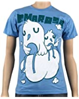 EMAROSA - Birds Of Feather - Blue T-shirt