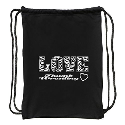Eddany Love Thumb Wrestling Sport Bag by Eddany