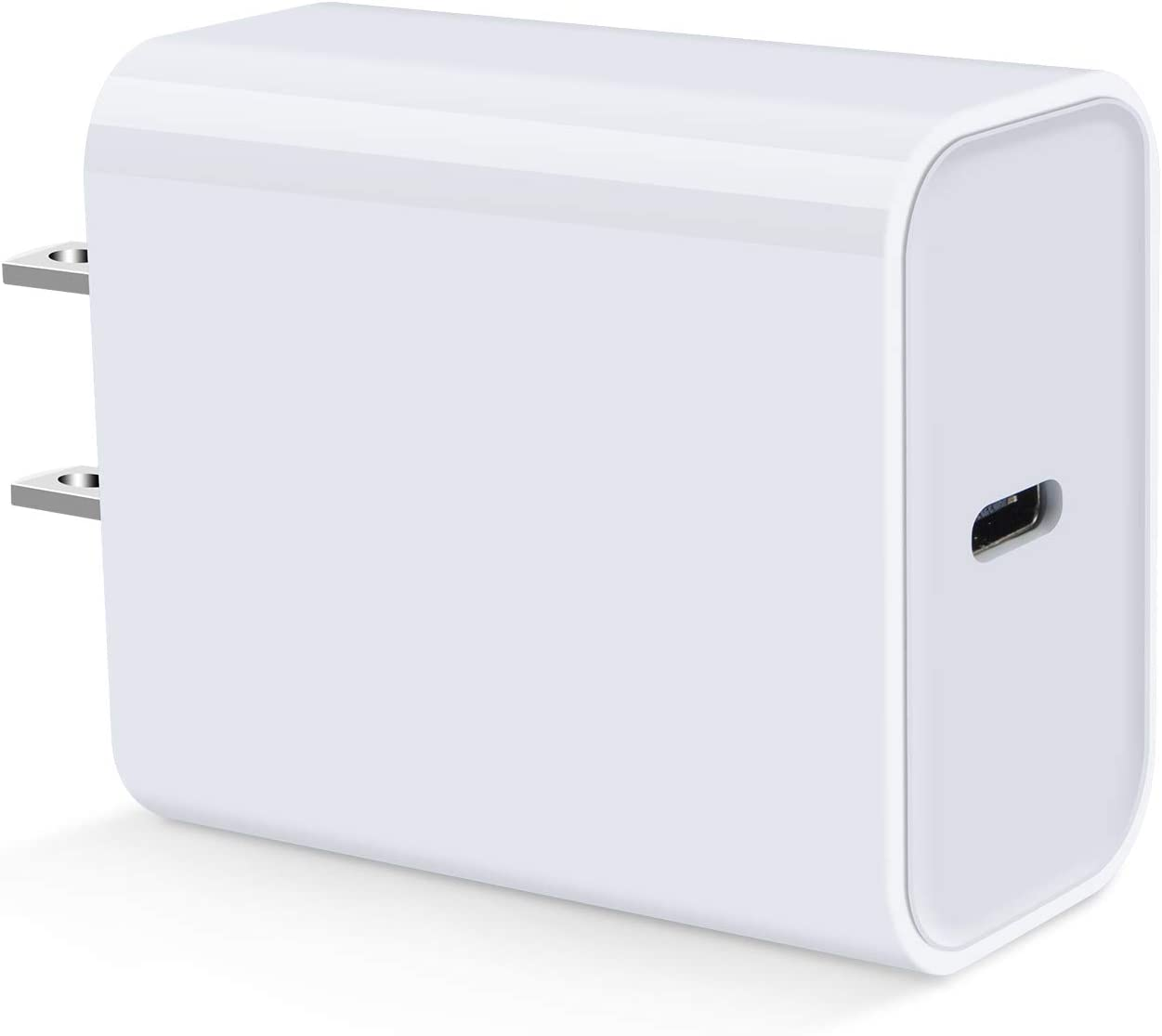 Fast USB C Wall Charger,18W PD Power Adapter Charging Block Compatible with iPhone 12 11 Pro/Pro Max,SE/X/XS,iPad Pro,Samsung Galaxy S20 S10 S9 A01 A11 A21 A51 A71 A20 A50 Note 20,Pixel 5 4a 3a 2 XL