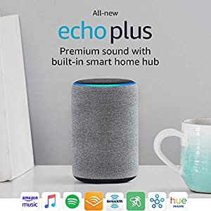 Echo Plus 2nd Generation With Built In Hub