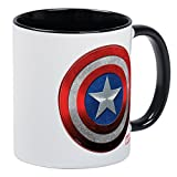 CafePress - Captain America Grunge Mug - Unique Coffee Mug, Coffee Cup