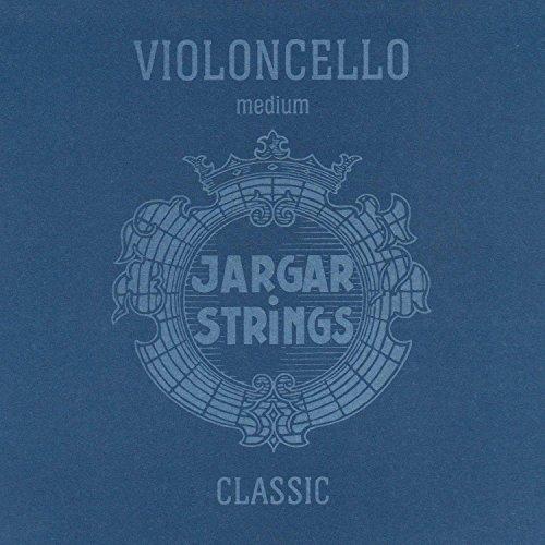 Jargar Cello SET CLASSIC Coated Steel Strings, Medium