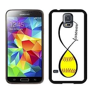 BINGO new arrived Softball Forever Softball Infinity Forever Samsung Galaxy S5 Case Black Cover