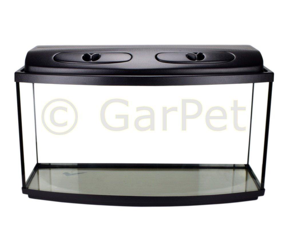 Acuario Juego completo Encorvada con T8 protectora Filtro calefactor Acuario Set: Amazon.es: Productos para mascotas