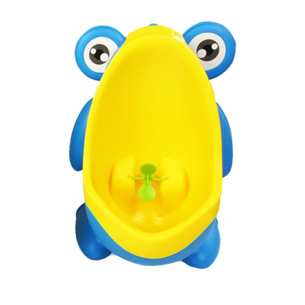 JUSTFOX - Frog Urinal Kinder Töpfchen Toilette Jungen Lerntöpfchen (Grün)