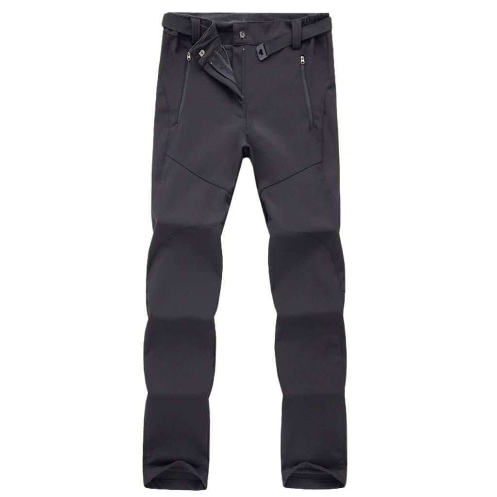 Aleola Men's Sport Outdoor Waterproof Windproof Quick-drying Trousers Long Pants (Black,M) by Aleola_Men's Pants