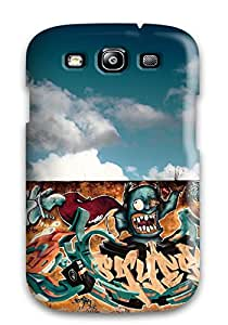 Awesome Defender Tpu Hard Case Cover For Galaxy S3- Graffiti