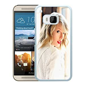HTC ONE M9 Case,Taylor Swift White For HTC ONE M9 Case