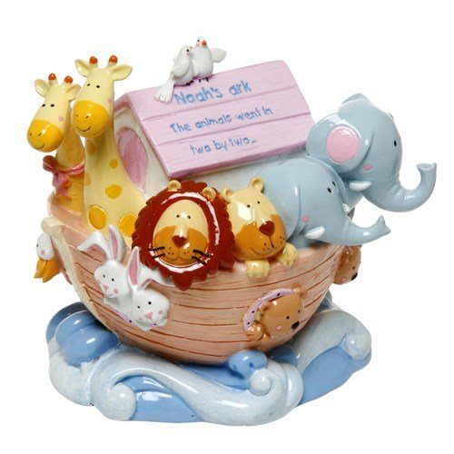 NEW Deluxe Noah's Ark Money Box/ Bank