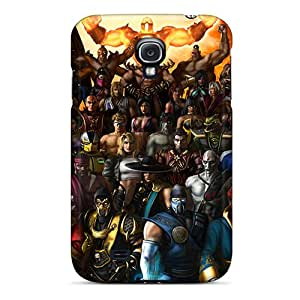 Forever Collectibles All Characters In The Game Mortal Kombat Hard Snap-on Galaxy S4 Case