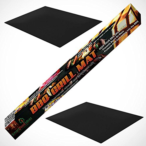 BBQ Grill Mat Cooking Sheet by Smart Food Ideas - Set of ...