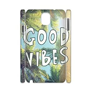 Good Vibes Brand New 3D Cover Case for Samsung Galaxy Note 3 N9000,diy case cover ygtg583395