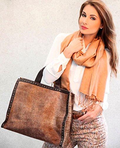 Shirin Sehan, Borsa tote donna Marrone marrone
