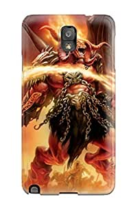 For Galaxy Note 3 Tpu Phone Case Cover(hell Guard)
