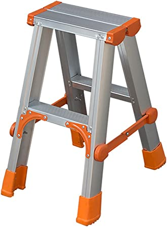 YMXLJF Taburete portatil Escalera Plegable casera de Dos escalones, Escalera de extensión de aleación de Aluminio, Taburete de Escalera de ingeniería Multiuso. Banco de casa: Amazon.es: Hogar