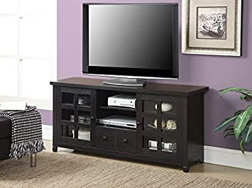 Convenience Concepts Designs2Go Newport Park Lane TV Stand, Espresso