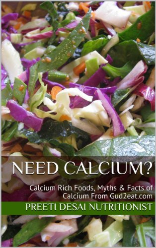 Need Calcium?: Calcium Rich Foods, Myths & Facts of Calcium From Gud2eat.com (Eat Well Series from Gud2eat.com Book 7)