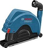 Bosch Professional GDE 230 FC-T Absaughaube, 230 mm Trennscheiben, Durchmesser 60 mm maximal Schnitttiefe, werkzeuglose Montage, 2,1 kg, 1600A003DM