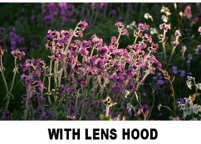 PLR Optics 62MM Lens Hood for The Sony Cybershot DSC-RX10 Digital Camera