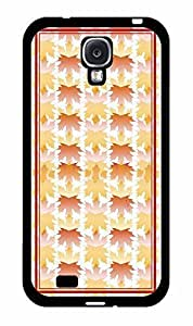 Autumn Fall Leaves Design Plastic Fashion Phone Case Back Cover Samsung Galaxy S4 I9500