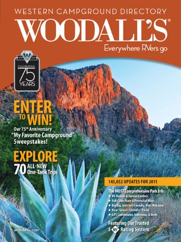 Woodall's Western America Campground Directory, 2011 (Woodall's Campground Directory: Western Ed.) ebook