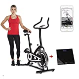fitbill Smart Exercise Bike with Bluetooth Speed Sensor, Scale & Workout App Review