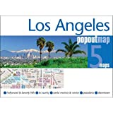 Los Angeles Popout Map - handy pocket-size pop up map of Los Angeles (Popout Maps)